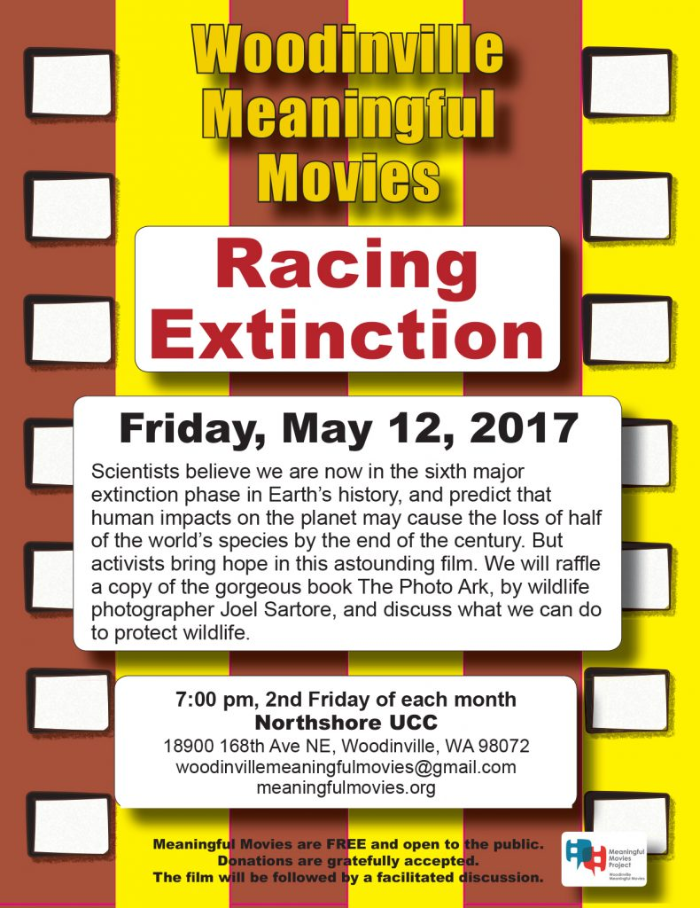 NUCC meaningful movie Racing Extinction